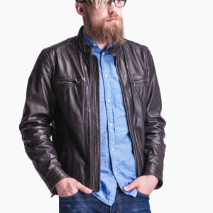 Whiskey Go-Go Leather Jacket